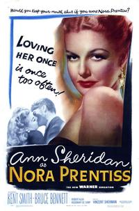 Nora Prentiss - 43 x 62 Movie Poster - Bus Shelter Style A