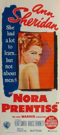 Nora Prentiss - 14 x 36 Movie Poster - Insert Style A