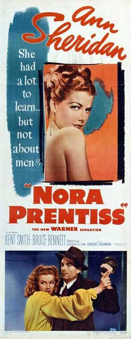 Nora Prentiss - 14 x 36 Movie Poster - Insert Style B