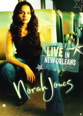Norah Jones: Live in New Orleans - 11 x 17 Movie Poster - Style A