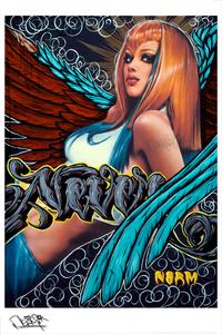 NORM - 24 x 36 - The Angel Series - Style H