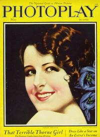 Norma Shearer - 11 x 17 Photoplay Magazine Cover 1940's Style A