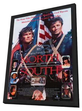 North and South Book 1 - 27 x 40 Movie Poster - Style A - in Deluxe Wood Frame