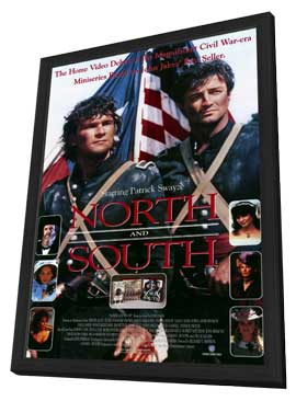 North and South Book 1 - 11 x 17 Movie Poster - Style A - in Deluxe Wood Frame