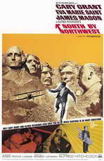 North by Northwest - 11 x 17 Movie Poster - Style B