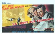 North by Northwest - 14 x 22 Movie Poster - Belgian Style A