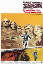 North by Northwest - 27 x 40 Movie Poster