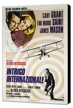 North by Northwest - 27 x 40 Movie Poster - Italian Style A - Museum Wrapped Canvas