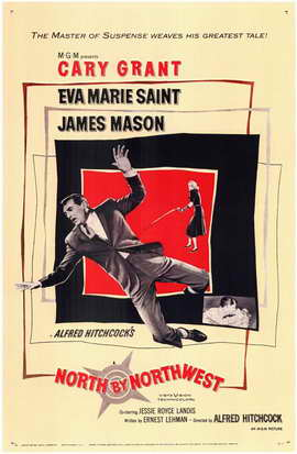 North by Northwest - 11 x 17 Movie Poster - Style A