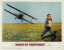 North by Northwest - 11 x 14 Movie Poster - Style B