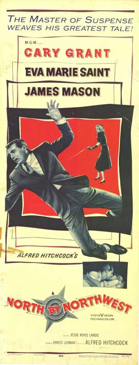 North by Northwest - 11 x 17 Movie Poster - Style C