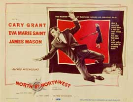 North by Northwest - 11 x 14 Movie Poster - Style D