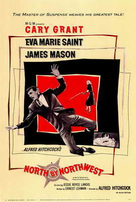 North by Northwest - 27 x 40 Movie Poster - Style A