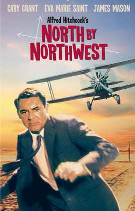 North by Northwest - 11 x 17 Movie Poster - Style D