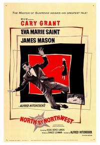 North by Northwest - 43 x 62 Movie Poster - Bus Shelter Style A