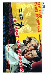 North by Northwest - 11 x 17 Movie Poster - Belgian Style A