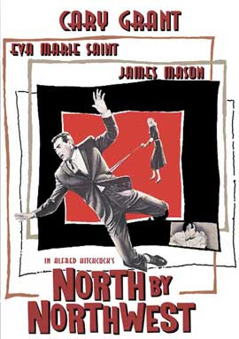 North by Northwest - 11 x 17 Movie Poster - Style F