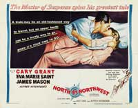 North by Northwest - 22 x 28 Movie Poster - Half Sheet Style A