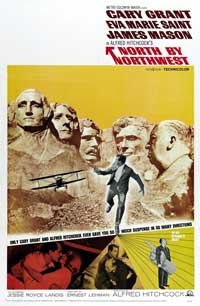 North by Northwest - 43 x 62 Movie Poster - Bus Shelter Style C