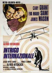 North by Northwest - 43 x 62 Movie Poster - French Style B