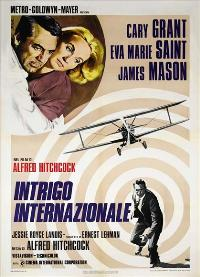 North by Northwest - 27 x 40 Movie Poster - Italian Style A