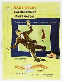 North by Northwest - 27 x 40 Movie Poster - Style E