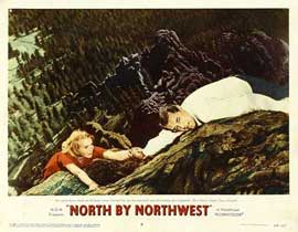 North by Northwest - 11 x 14 Movie Poster - Style F