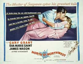 North by Northwest - 11 x 14 Movie Poster - Style K