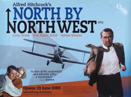 North by Northwest - 11 x 17 Movie Poster - UK Style A