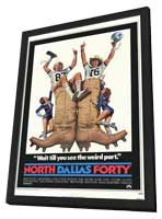 North Dallas Forty - 11 x 17 Movie Poster - Style A - in Deluxe Wood Frame