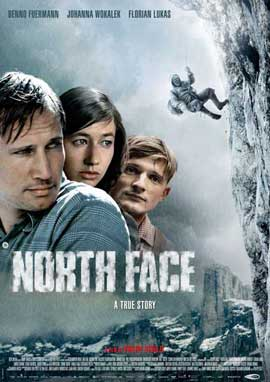 North Face - 11 x 17 Movie Poster - Swiss Style A