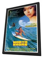 North Shore - 27 x 40 Movie Poster - Style A - in Deluxe Wood Frame