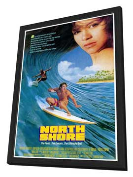 North Shore - 11 x 17 Movie Poster - Style A - in Deluxe Wood Frame