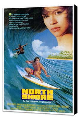 North Shore - 11 x 17 Movie Poster - Style A - Museum Wrapped Canvas