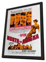North to Alaska - 11 x 17 Movie Poster - Style B - in Deluxe Wood Frame