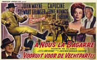 North to Alaska - 11 x 17 Movie Poster - Belgian Style A