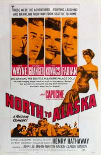 North to Alaska - 11 x 17 Movie Poster - Style B