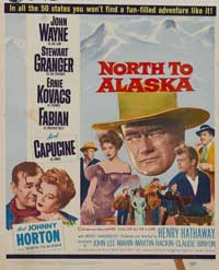 North to Alaska - 22 x 28 Movie Poster - Half Sheet Style A