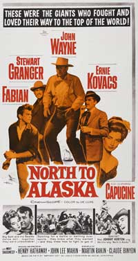 North to Alaska - 11 x 17 Movie Poster - Style D