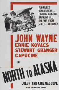 North to Alaska - 11 x 17 Movie Poster - Style E
