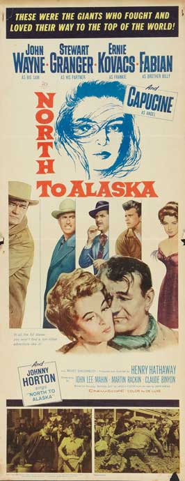 North to Alaska - 14 x 36 Movie Poster - Insert Style A