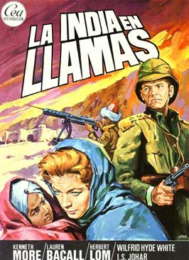 North West Frontier - 11 x 17 Movie Poster - Spanish Style A