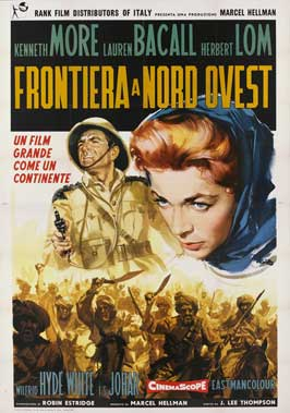 North West Frontier - 27 x 40 Movie Poster - Italian Style A