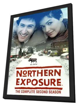 Northern Exposure - 27 x 40 Movie Poster - Style E - in Deluxe Wood Frame