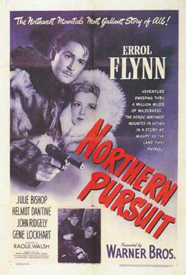 Northern Pursuit - 27 x 40 Movie Poster - Style A