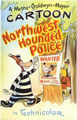 Northwest Hounded Police - 11 x 17 Movie Poster - Style A