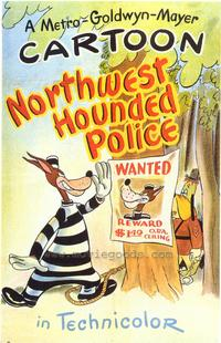 Northwest Hounded Police - 43 x 62 Movie Poster - Bus Shelter Style A
