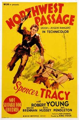 Northwest Passage - 11 x 17 Movie Poster - Australian Style A