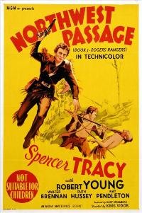 Northwest Passage - 27 x 40 Movie Poster - Australian Style A