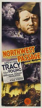 Northwest Passage - 14 x 36 Movie Poster - Insert Style A